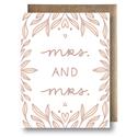 Maija Rebecca Hand Drawn - MRHD Mrs. And Mrs.