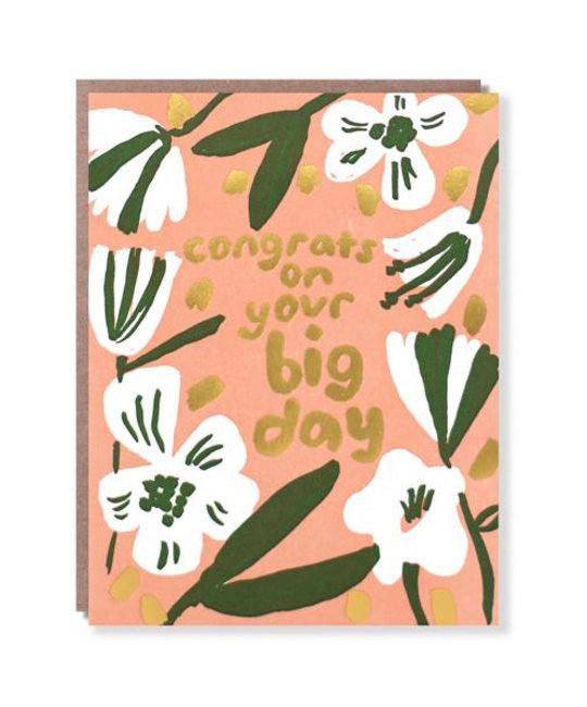 Egg Press - EP Big Day Congrats (gold foil)