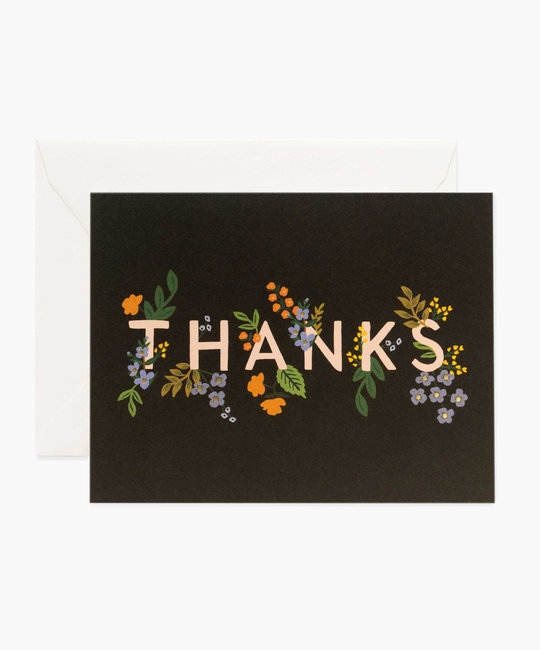 Rifle Paper Co. Rifle Paper - Posey Thank You Card
