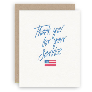 KB Paperie - KBP Thank You For Your Service