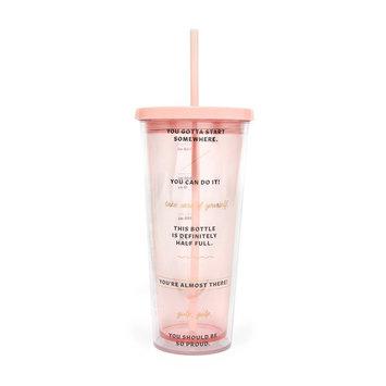 ban.do Drinking Enough Water Tumbler