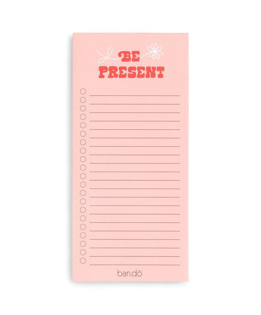 ban.do BD NP - Take Note! Be Present Notepad