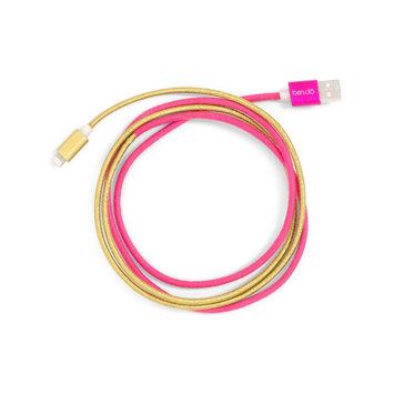 ban.do ban.do - Pink and Gold Charging Cord