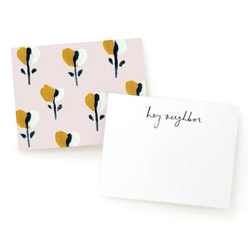 Our Heiday Our Heiday - Neighborly Notes in Blossom, set of 8