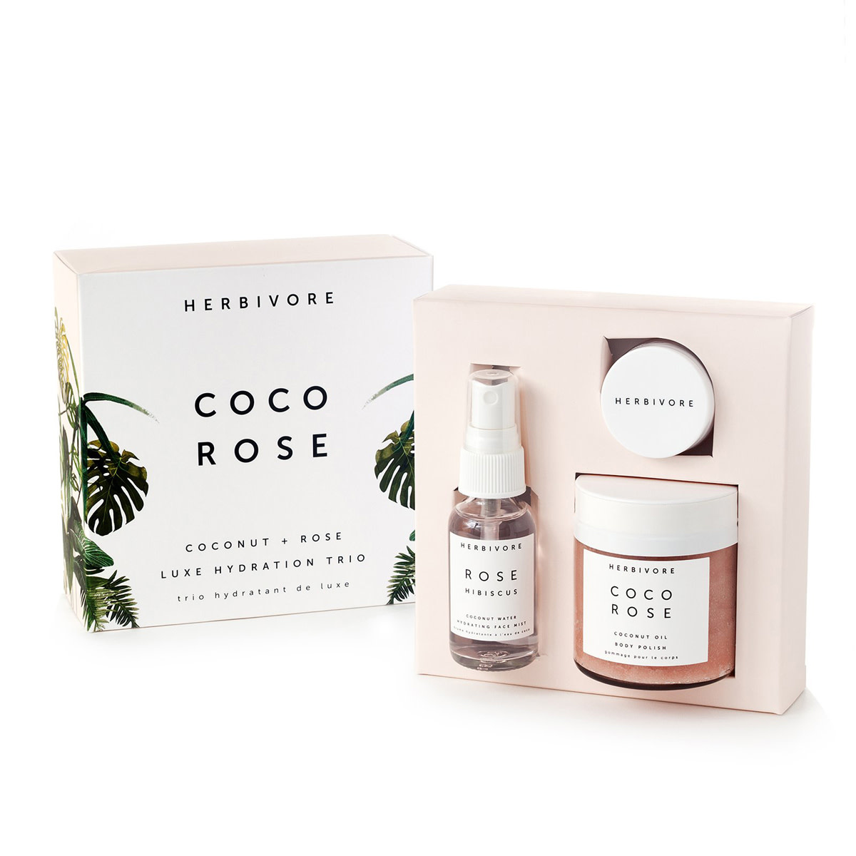herbivore botanicals HB AP - The Coco Rose Luxe Hydration Trio