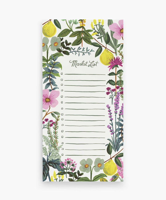 Rifle Paper Co. Herb Garden Market List Pad