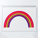 banquet atelier and workshop Banquet  - Rainbow Screen Print