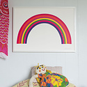 Banquet Atelier and Workshop - BAW Banquet  - Rainbow Screen Print