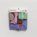 BAGGU Baggu - Tropical Fruit 3D Zip Dopp Kit Set