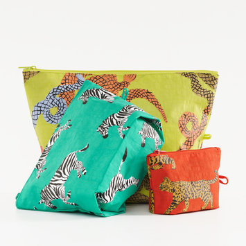 BAGGU Baggu - Fancy Animal Go Pouch Set of 3