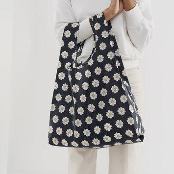 BAGGU Baggu -  Black Daisy Reusable Bag
