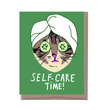 La Familia Green Self Care Cat