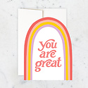 Idlewild Co - ID You Are Great: Rainbow Die-Cut