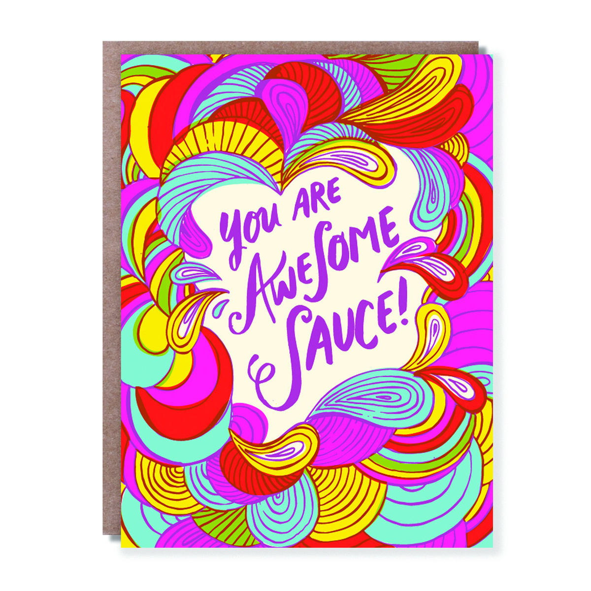 Hello!Lucky You Are Awesome Sauce!