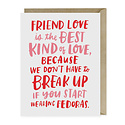 Emily McDowell - EMM Fedoras Friend Card