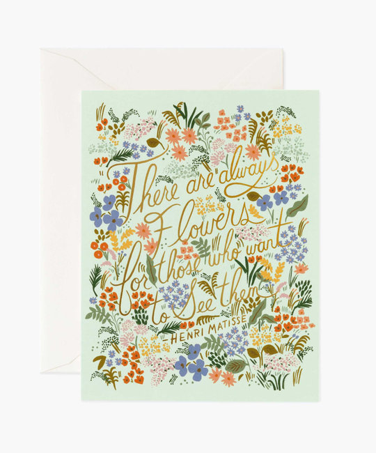 Rifle Paper Co. Rifle Paper - Matisse Quote