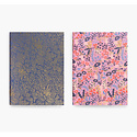 Rifle Paper Co - RP Rifle Paper - Tapestry Pocket Journal set of 2, 4 x 5