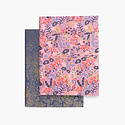 Rifle Paper Co. Rifle Paper - Tapestry Pocket Journal set of 2, 4 x 5
