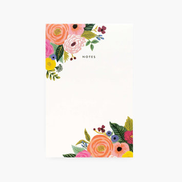 Rifle Paper Co. Juliet Rose Note Pad