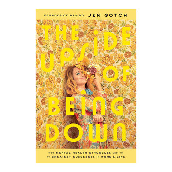 Simon and Schuster The Upside of Being Down by Jen Gotch