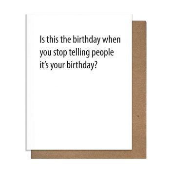 The Matt Butler Hide Birthday