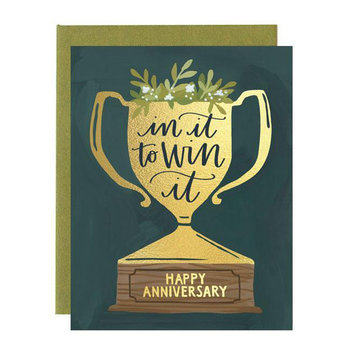 One Canoe Two Letterpress - OC Anniversary Trophy