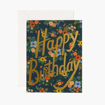 Rifle Paper Co. Garden Birthday Card