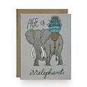 Wild Ink Press - WI Irrelephant Birthday Card