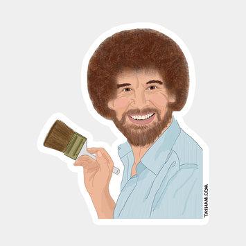 Tay Ham Bob Ross Sticker