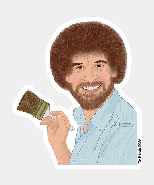 Tay Ham Tay Ham - Bob Ross Sticker