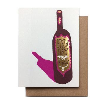 Hammerpress - HA Birthday Bubbles Card