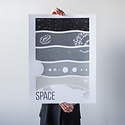 Brainstorm Print and Design Brainstorm Space Print 11 x 14 inch