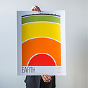 Brainstorm Print and Design - BS Brainstorm Earth Print, 11 x 14 inch