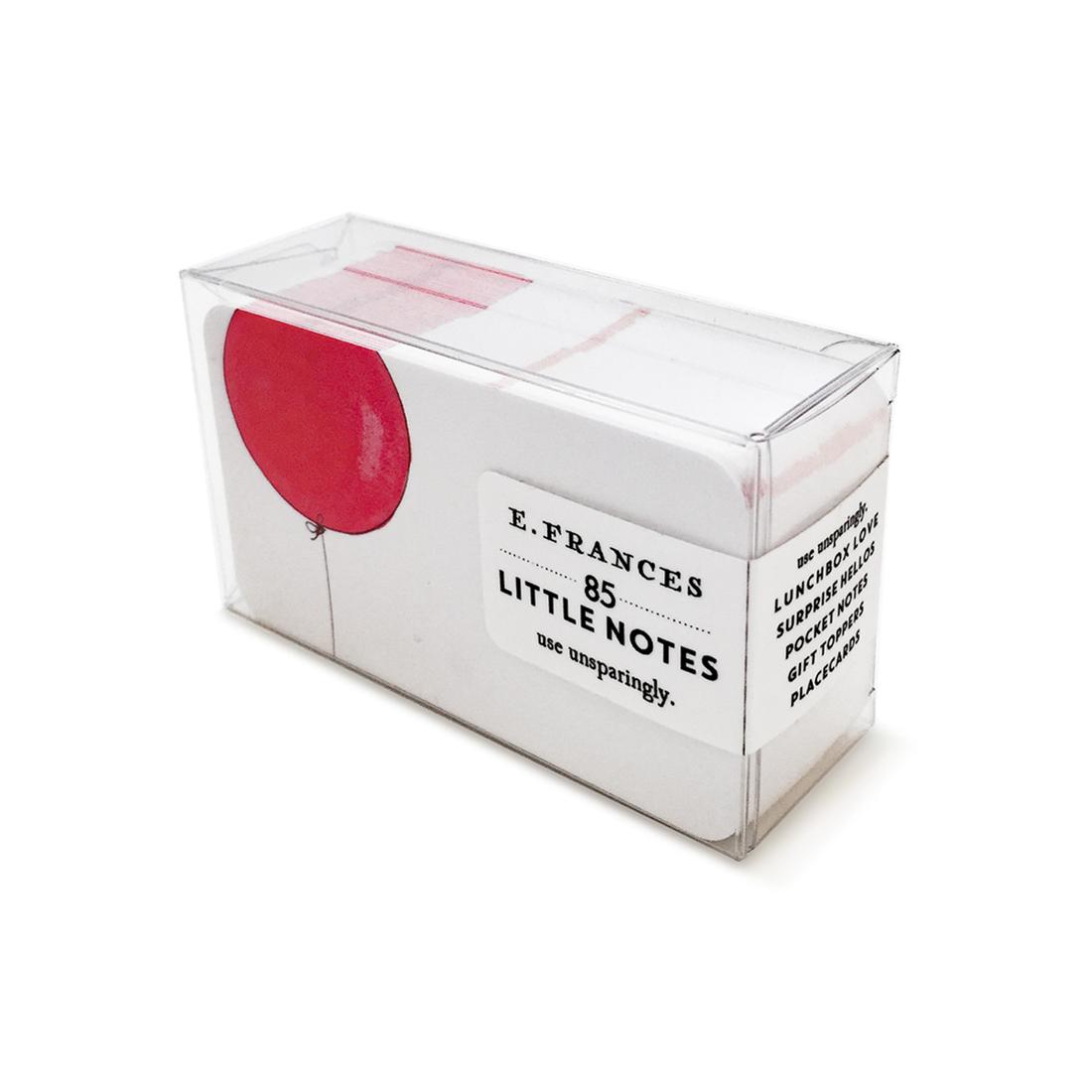 E. Frances Paper Studio EF ECMI - Balloon Little Notes, set of 85