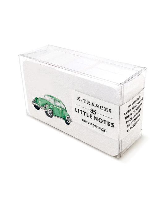 E. Frances Paper Studio Green Buggy Little Notes, set of 85