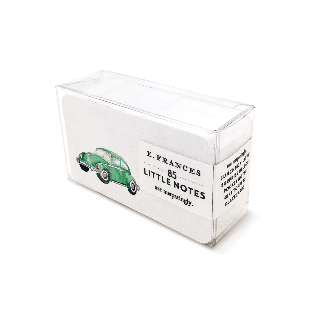 E. Frances Paper Studio Green Buggy Little Notes, set of 85