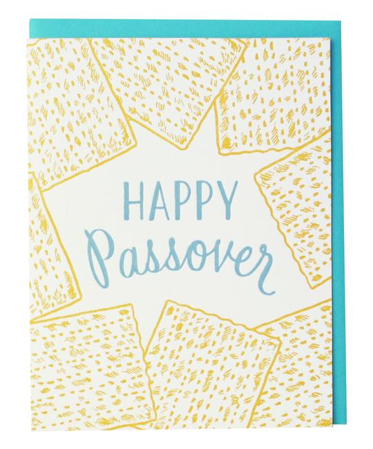 Smudge Ink Matzoh Passover