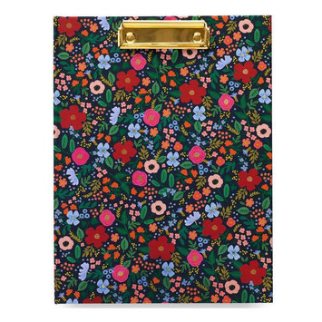 Rifle Paper Co - RP Rifle Paper - Wild Rose Clipfolio