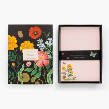 Rifle Paper Co Botanical Social Stationery Set