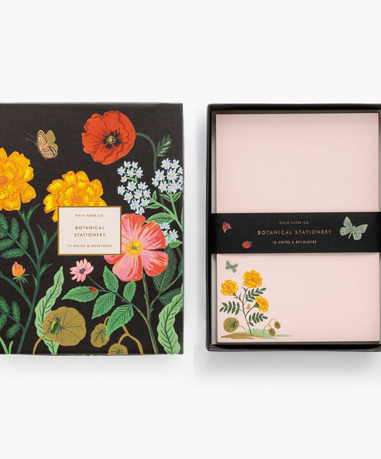 Rifle Paper Co - RP Rifle Paper - Botanical Social Stationery Set