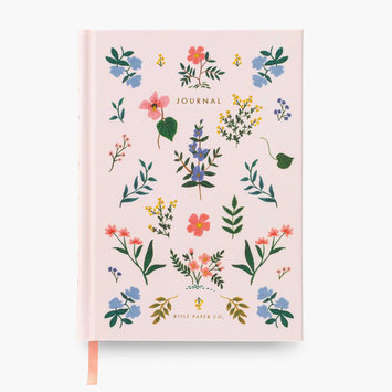 Rifle Paper Co. Wildwood Fabric Journal, lined