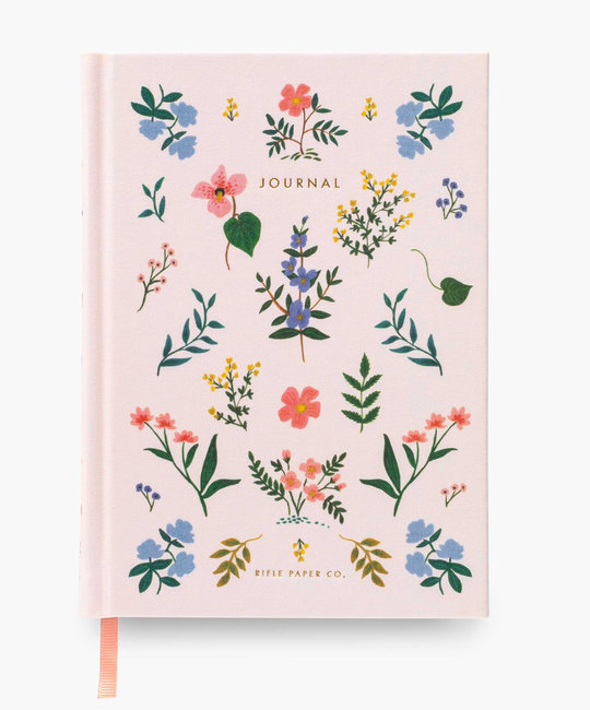 Rifle Paper Co. Rifle Paper- Wildwood Fabric Journal, lined