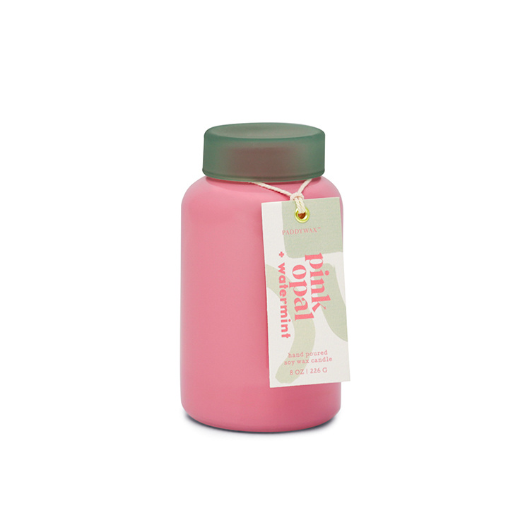 Paddywax Pink Opal + Watermint Lolli Candle