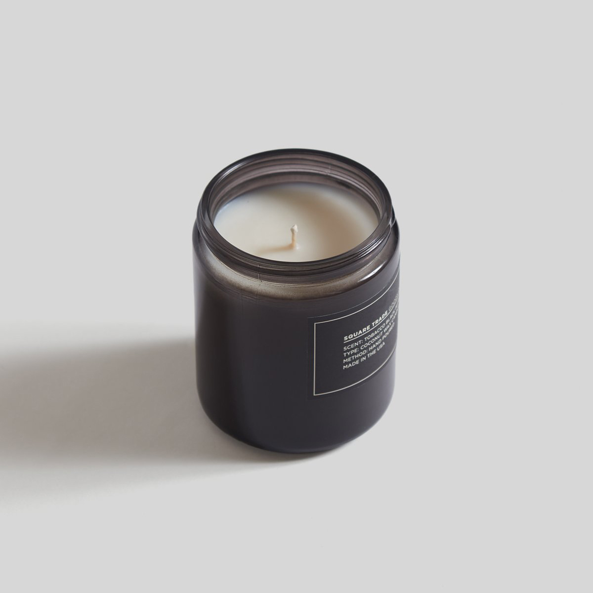 Square Trade Goods Co. Tobacco Black Pepper Candle