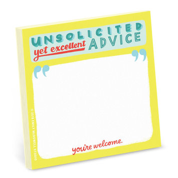 Emily McDowell Unsolicited Advice Sticky Notes