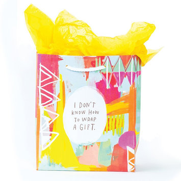 Emily McDowell - EMM Don't Know How to Wrap Gift Bag