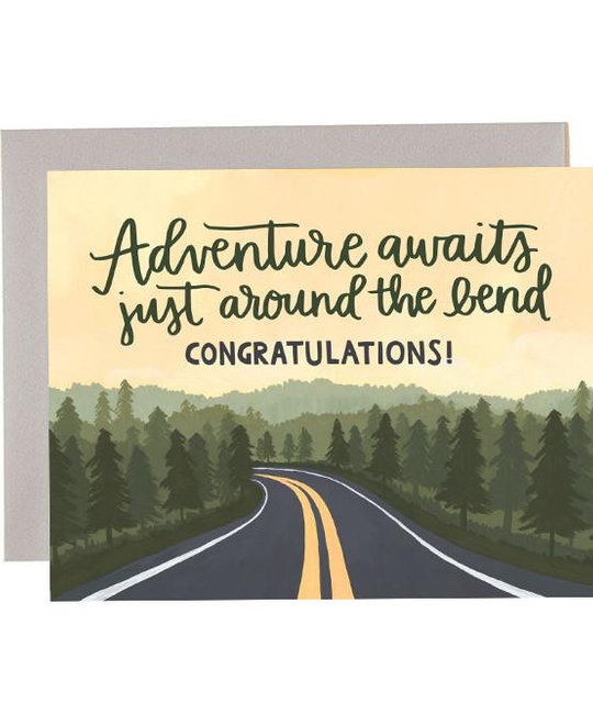 One Canoe Two Letterpress - OC Adventure Road