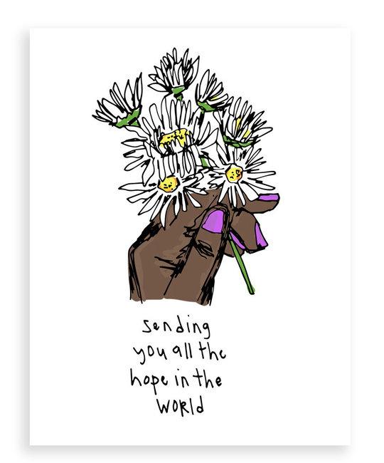ARTJADEN Sending Hope
