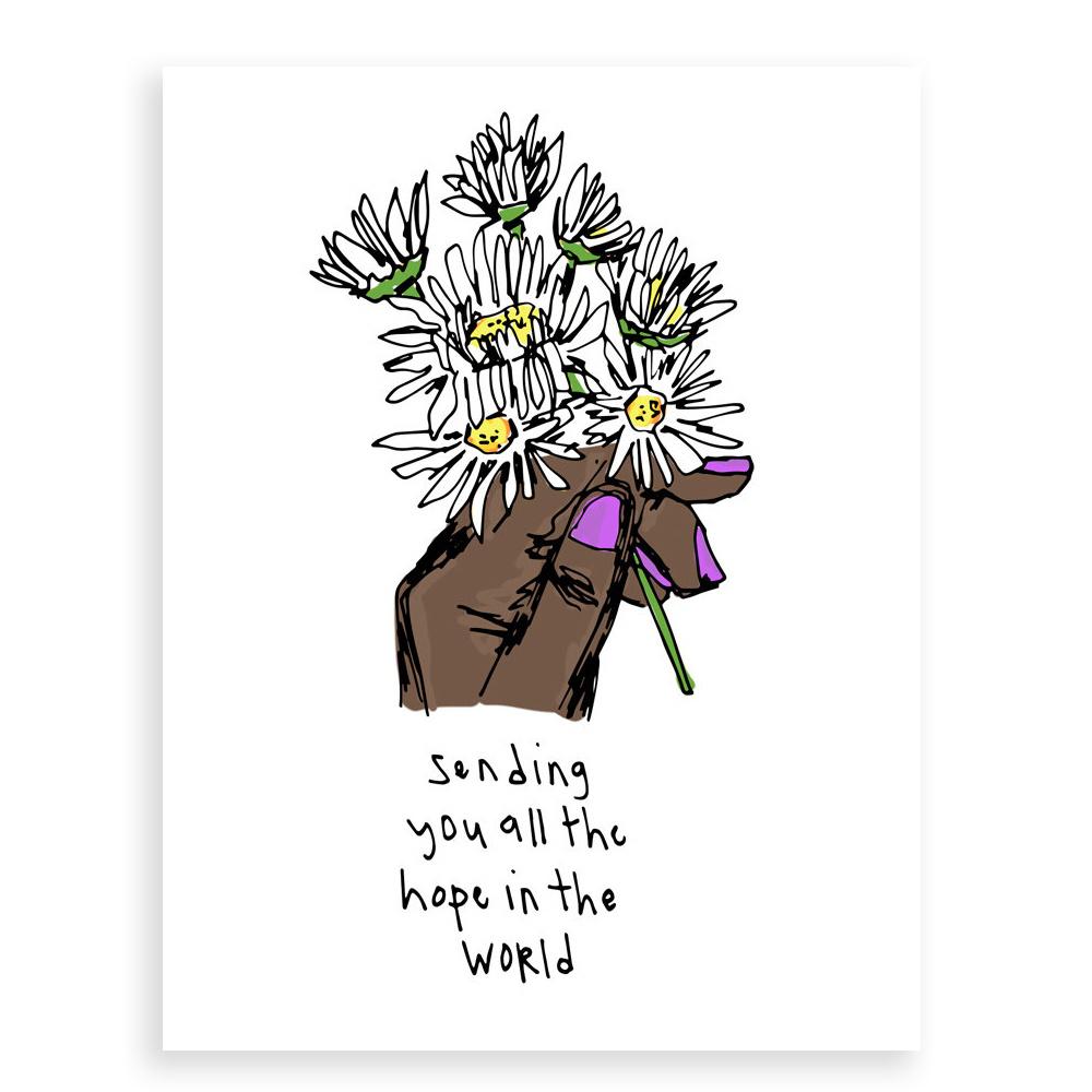 Artjaden - ART ARTGCSY0001 - Sending Sending Hope Card
