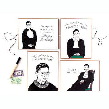 Party of One RBG Boxed Note Cards, Set of 8